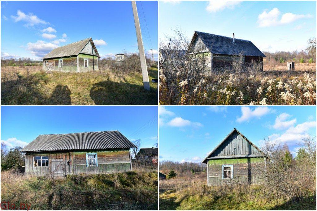 Продам дом в д. Слобода от (Плещеницы 1 км) от Минска 62км.