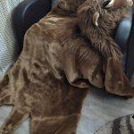 Ковёр в виде шкуры льва