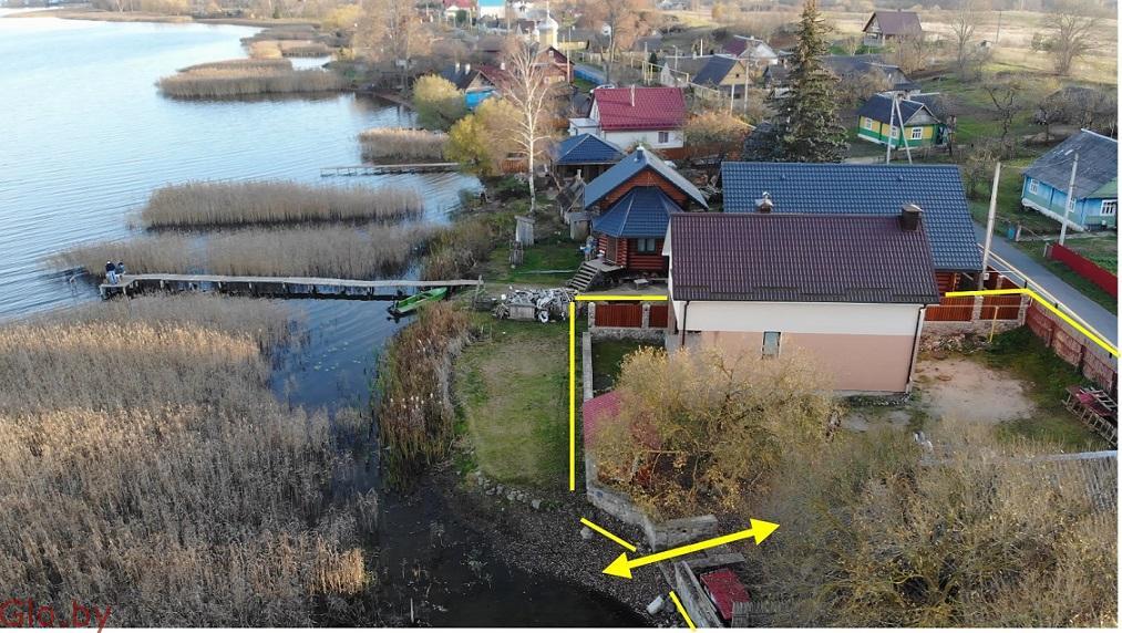 Продам дом у озера, в гп.Свирь,Мядельский р-н,Минская обл.