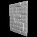 Стеновая 3Д ( 3D) панель Конструктор (500*500)