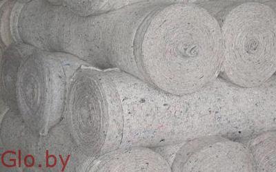 Ватин синтетический белый: 200 г/м2, 50 п.м.Опт. Розница.