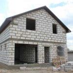 Стоительство домов из блоков под ключ в Пуховичском р-не