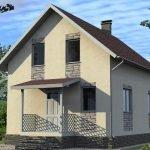 Стоительство домов из блоков под ключ в Мядельском р-не