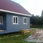 Строительство каркасных Домов и бань под ключ в Червене