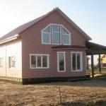 Строительство каркасных Домов под ключ в Любане и районе