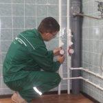 Замена или монтаж водопроводных труб за один день.