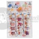 Накладные ногти Farres A-002 (12 комплектов с клей-гелем, 5 г)