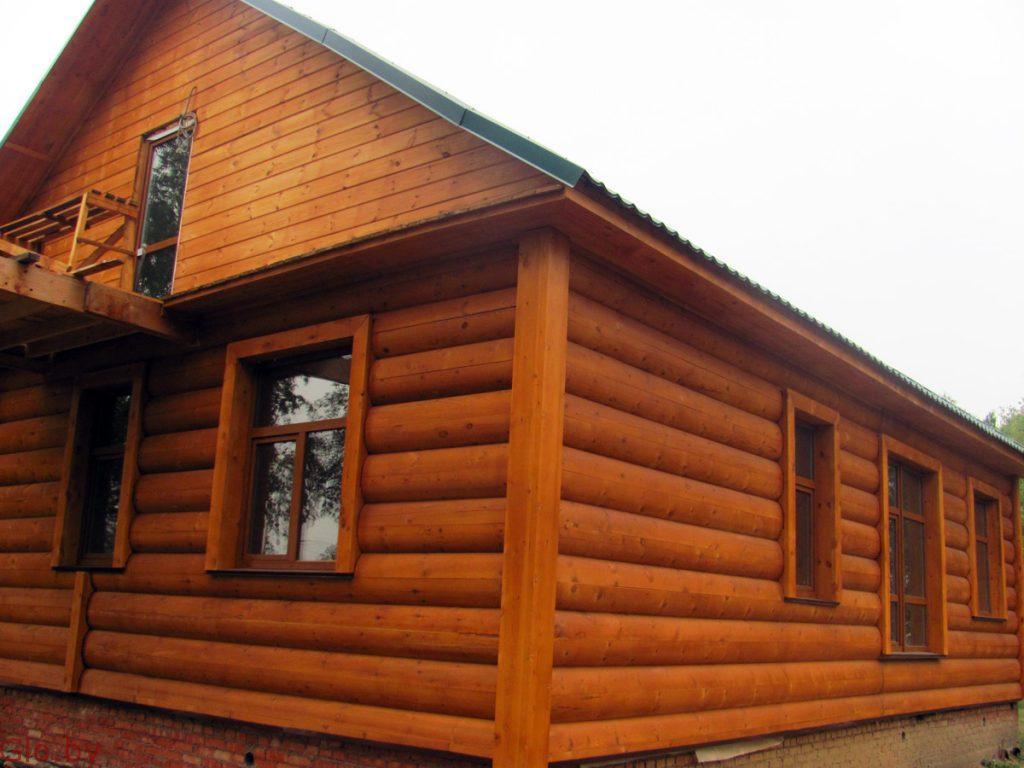 Деревянная отделка дома. Работаем добросовестно и честно