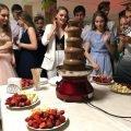 Аренда шоколадных фонтанов в Минске