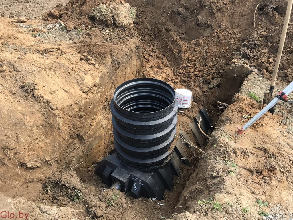 Монтаж канализации, септиков, очистных сооружений