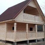 Строим Дома и Бани из профилированного бруса. Старые Дороги