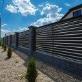 Проветриваемый Забор-жалюзи