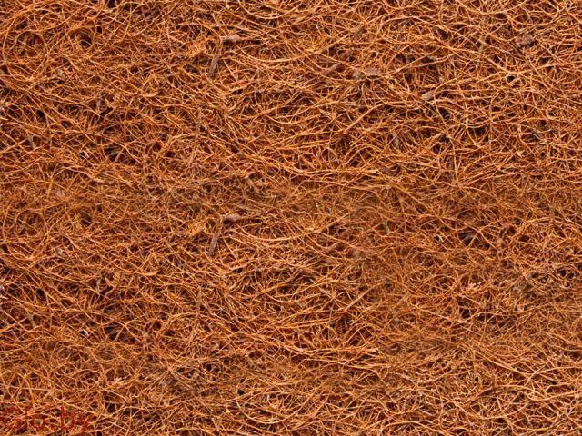 Кокосовая койра латексированная. 1800/2000 плотность 100. толщина, 10 мм.