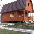 Дом из бруса проект Евгений 6х6 м