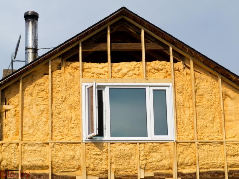 Важно! Утепление фасада перед зимой!