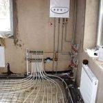 Монтаж систем отопления под ключ в Кричеве