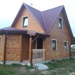 Дом из бруса 6х8м проект Андрей 68м2 под ключ