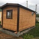 Баня Мобильная за 1 день под ключ установка в Кричеве