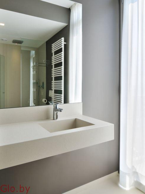 Керамические столешницы и мебель в ванные комнаты Enkira
