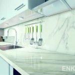 Керамические столешницы для кухни Enkira