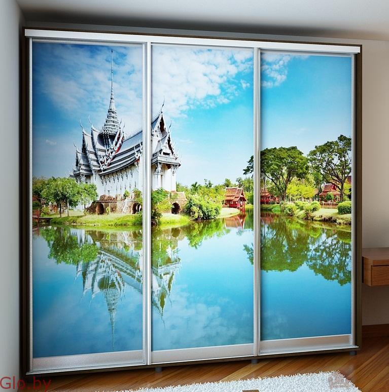 Шкаф-купе изготовим с комбинированными дверями под заказ