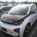 BMW электро-бензиновый, черно-белый