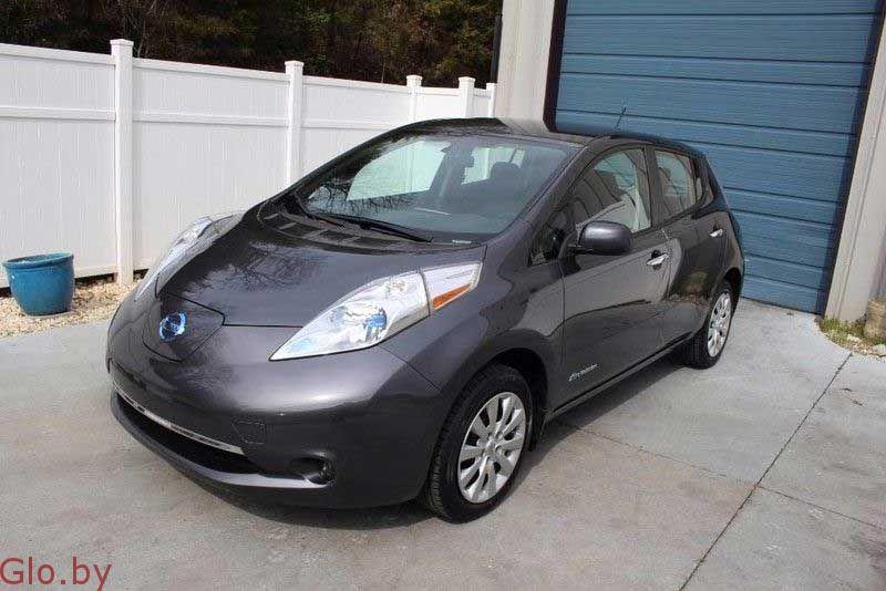 Nissan, Leaf S, 2014