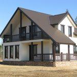 Производство и строительство каркасных домов. Столбцы