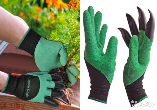 Уникальная садовая перчатка garden genie gloves