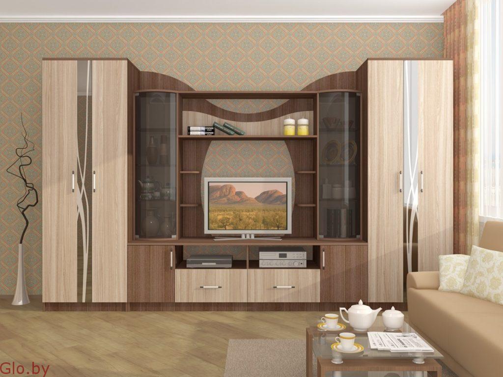 Стенка-горка в гостиную Гамма-15