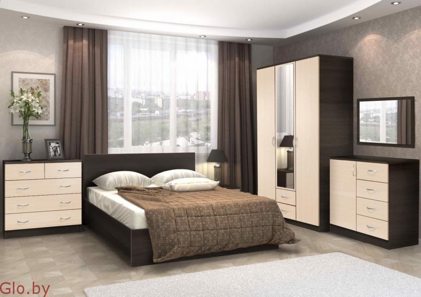 Комплект мебели для спальни Онтарио 5