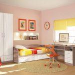 Комплект мебели для детской Бриз ясень