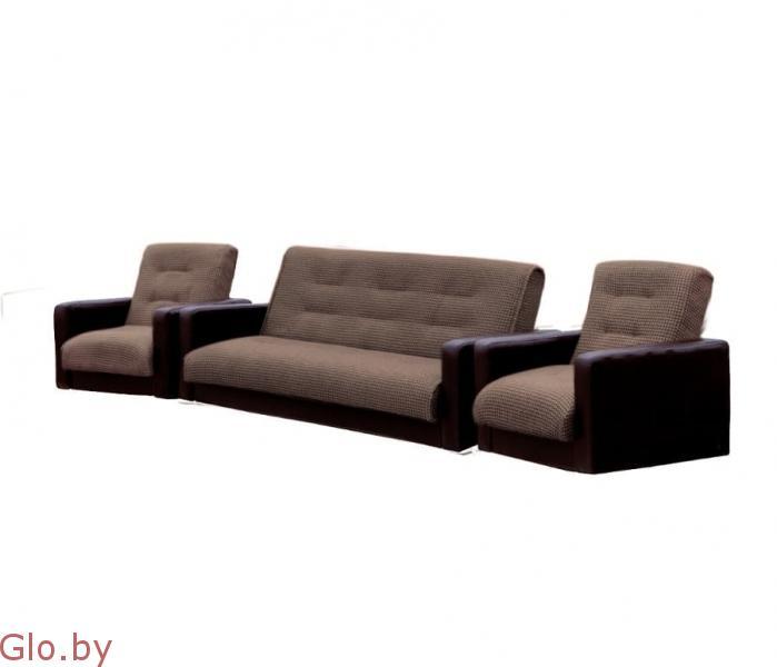 Комплект Диван + 2 кресла Лондон Комби