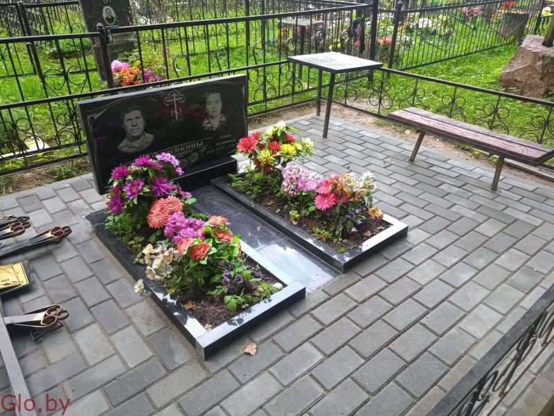 Благоустройство могил, установка памятника Любань и рн