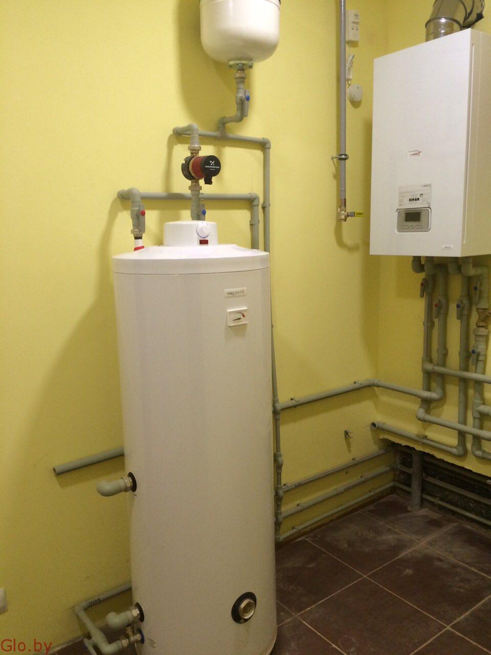 Отопление, водопровод, канализация.