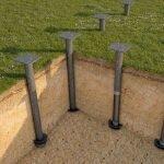 Фундамент на сваях установка в Березино