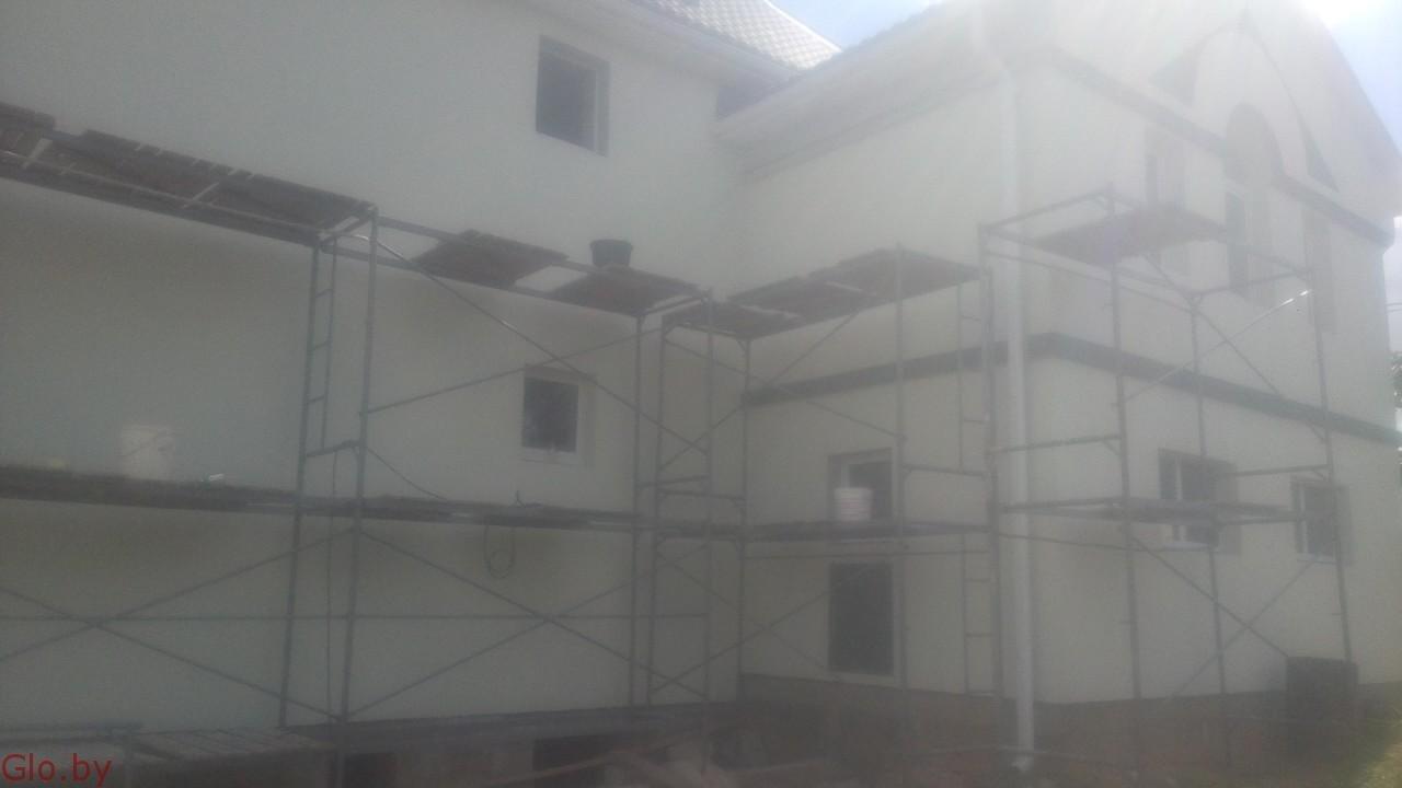 Фасадные работы по отделке дома, все виды.