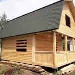 Построим Дом сруб из бруса Иван 6х6 в Барановичах
