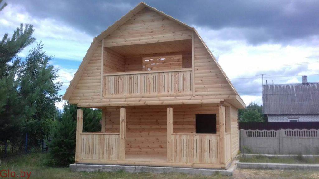 Строим Дома и бани из бруса. Честная цена наших услуг. Клецк
