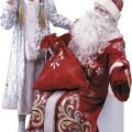 Новогоднее поздравление Деда Мороза и Снегурочки