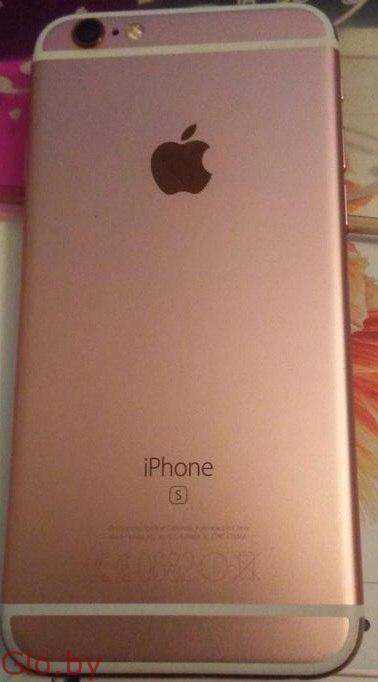 Продаю Iphone 6s розовый 16 гб