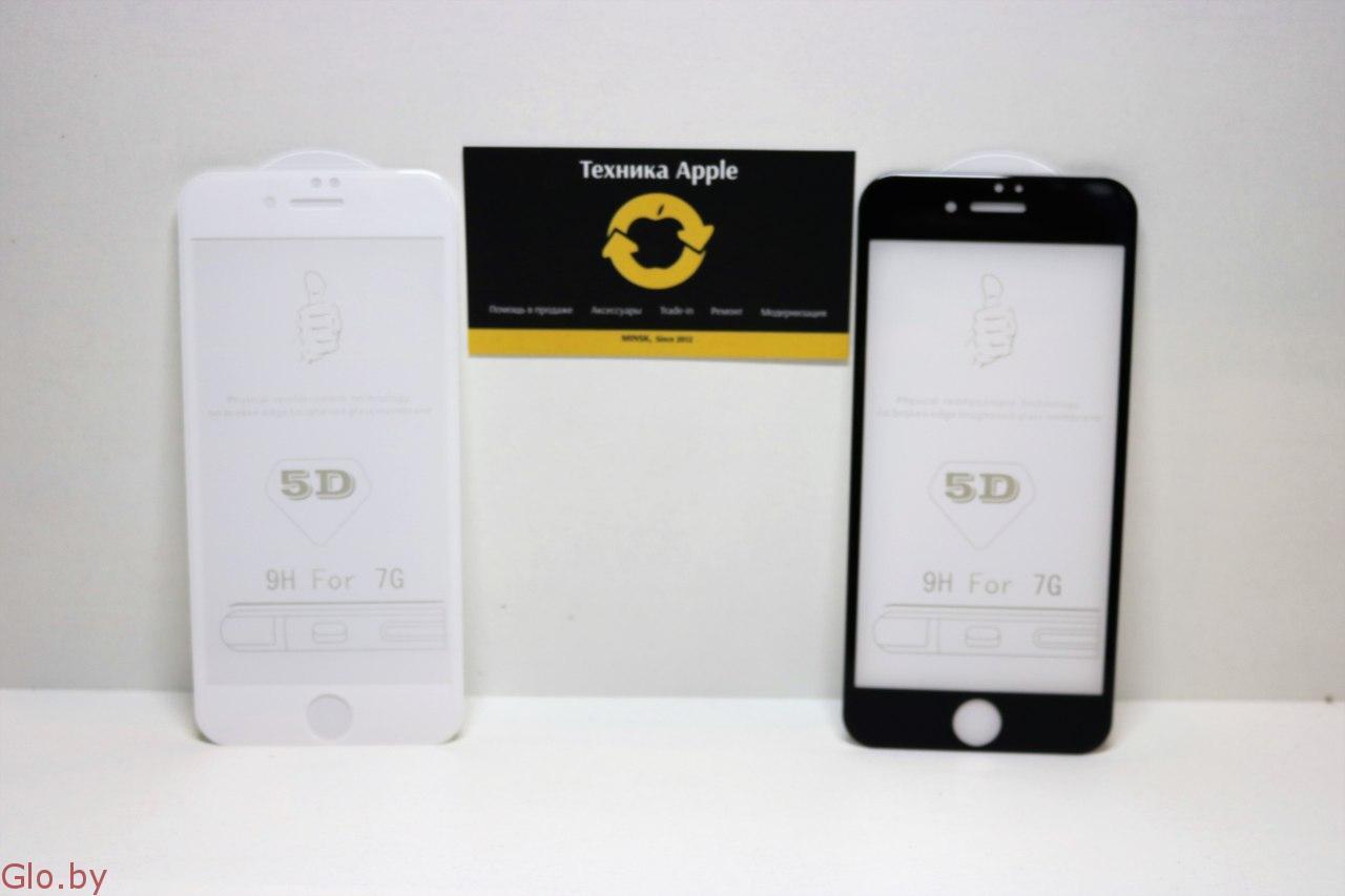 Защитные Стекла 3D 5D Apple Silicone Case 5 SE 6s 6 6+ 6s+ 7 7+ 8 8+ в Минске