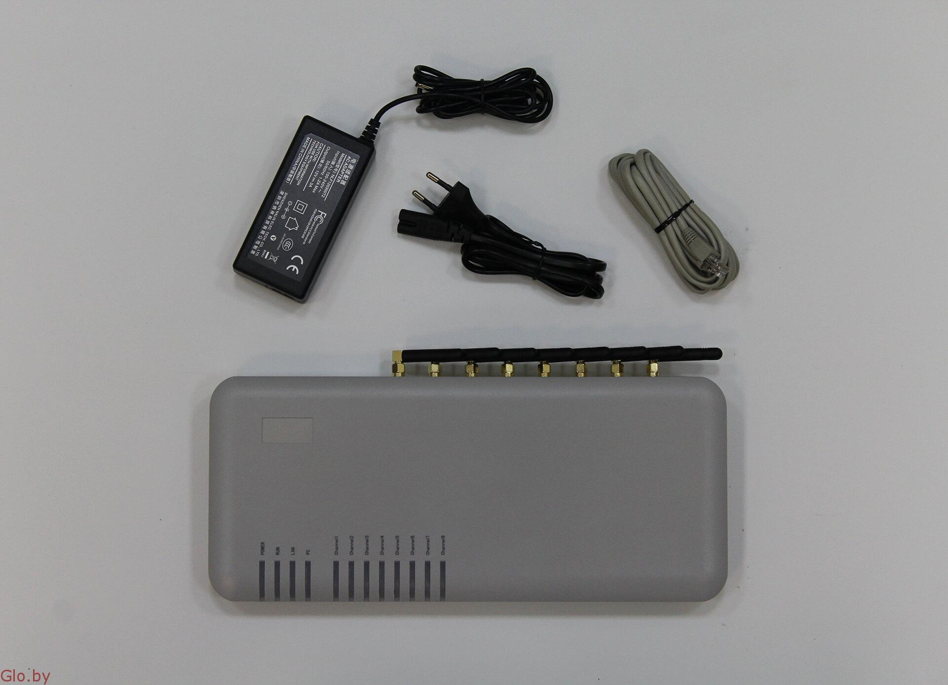 DBL GoIP-8. GSM шлюз для IP-телефонии на 8 SIM-карт.