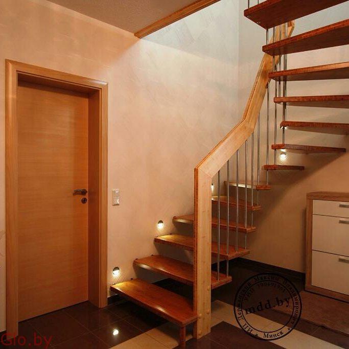 Нужна надежная и удобная лестница в дом? Звоните, сделаем