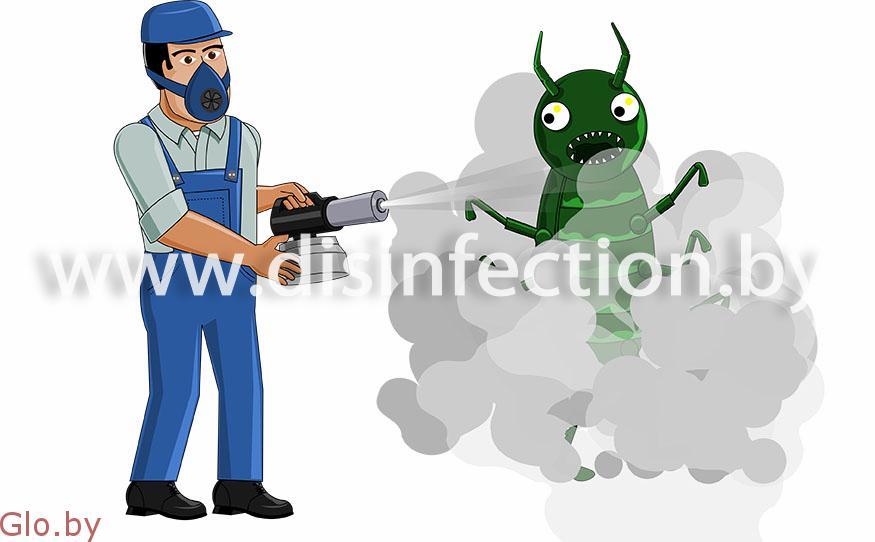 Профессиональная дезинсекция (удаление насекомых)