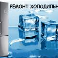 Ремонт холодильников на дому недорого