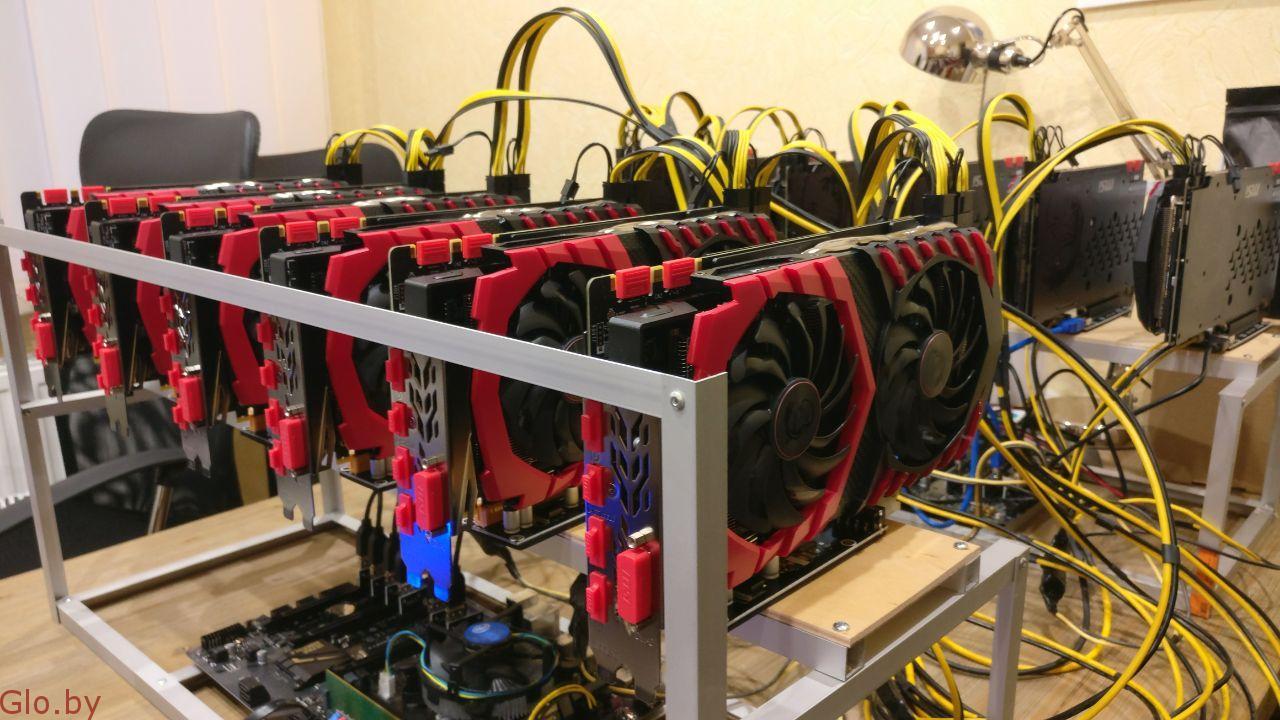 Новая майнинг-ферма на 6 картах GeForce GTX 1080/8GB