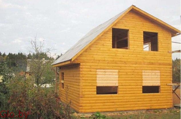 Дом-Баня из бруса готовые срубы с установкой-10 дней недорого Минск.