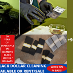 SSD SOLUTION CHEMICAL FOR CLEANING BLACK MONEY