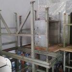 Стол металлический для оборудования, стол раскроечный